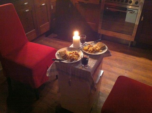 1. Abendessen